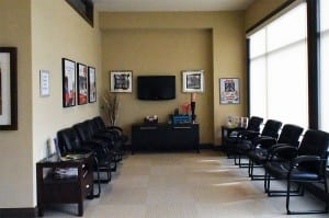 Relax in our reception area until your appointment. Enjoy the snacks and refreshments!