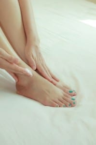 Foot Moisturizer Massage